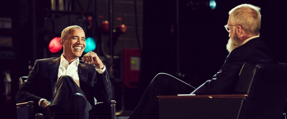 "PHOTO: Barack Obama on the Netflix series ""My Next Guest Needs No Introduction with David Letterman"""
