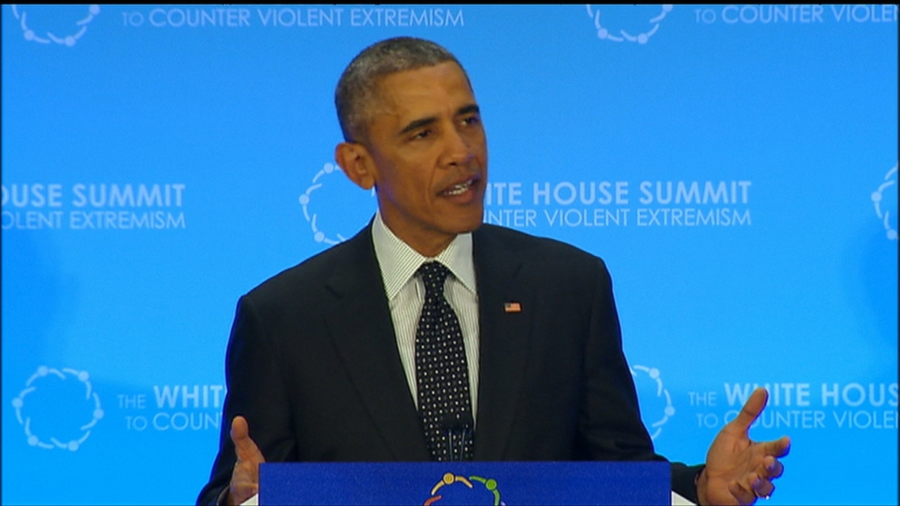 VIDEO: The President challenged countries to break the cycle of sectarian violence that drives extremism.