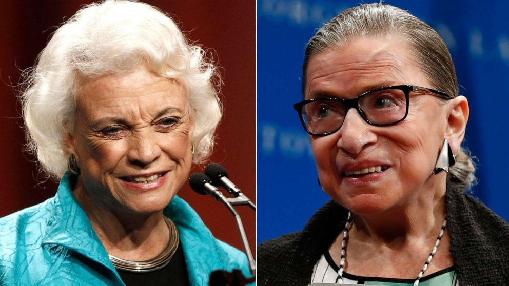 Women lawmakers introduce bill to require statues of Ruth Bader Ginsburg, Sandra Day O'Connor at Capitol