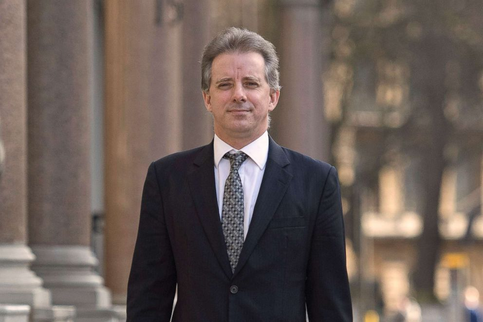 Christopher Steele, the former MI6 agent who set up Orbis Business Intelligence and compiled a dossier on Donald Trump, shown in London in this March 7, 2017 file photo.