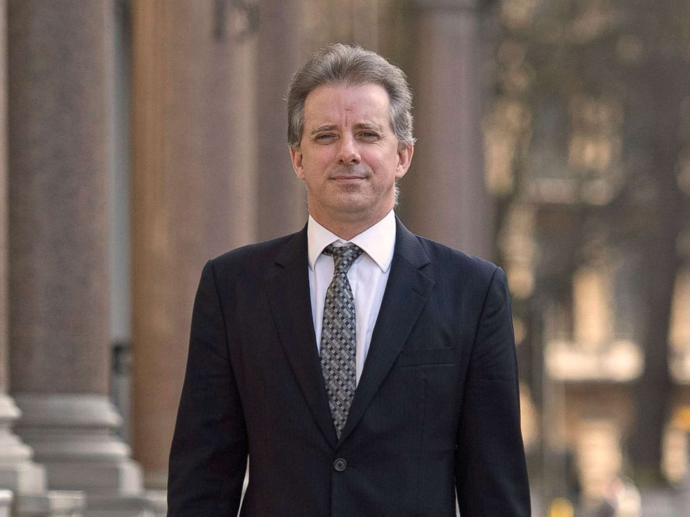PHOTO: Christopher Steele, the former MI6 agent who set up Orbis Business Intelligence and compiled a dossier on Donald Trump, shown in London in this March 7, 2017 file photo.