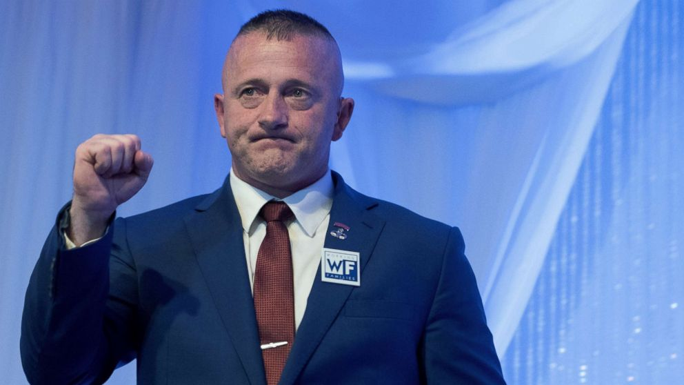 Trump called him 'stone cold crazy ' Now Richard Ojeda is running