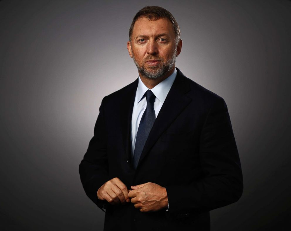 PHOTO: Oleg Deripaska, billionaire and president of United Co. Rusal, poses for a photograph following a Bloomberg Television interview in Davos, Switzerland, Jan. 20, 2016.