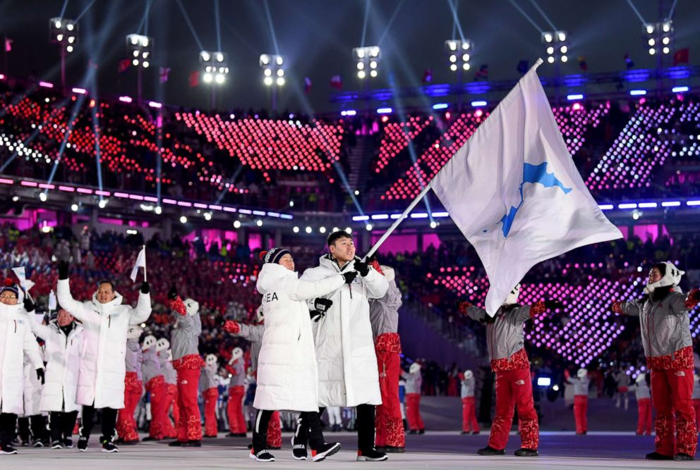 North and South Korea grow closer at the Winter Games