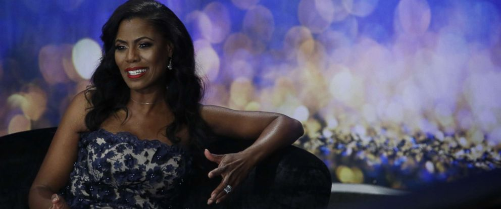 """PHOTO: Omarosa appears in a promotional image for """"Big Brother: Celebrity Edition,"""" 2018."""