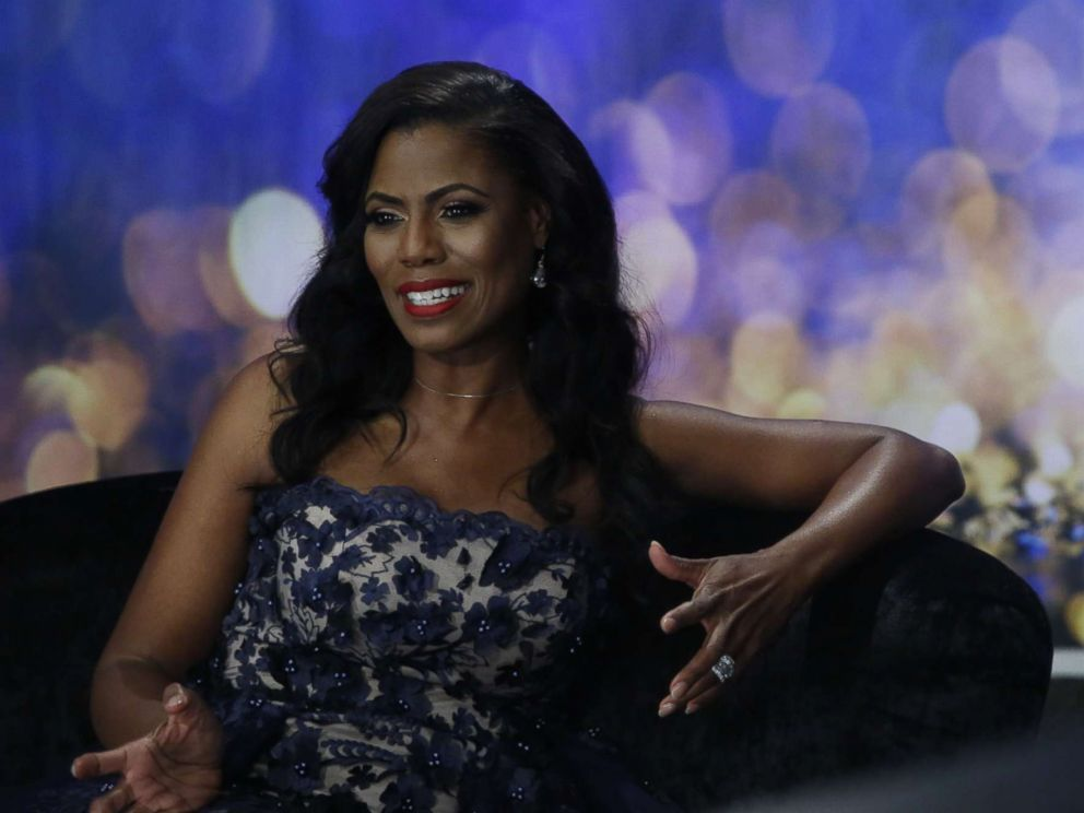 PHOTO: Omarosa appears in a promotional image for Big Brother: Celebrity Edition, 2018.