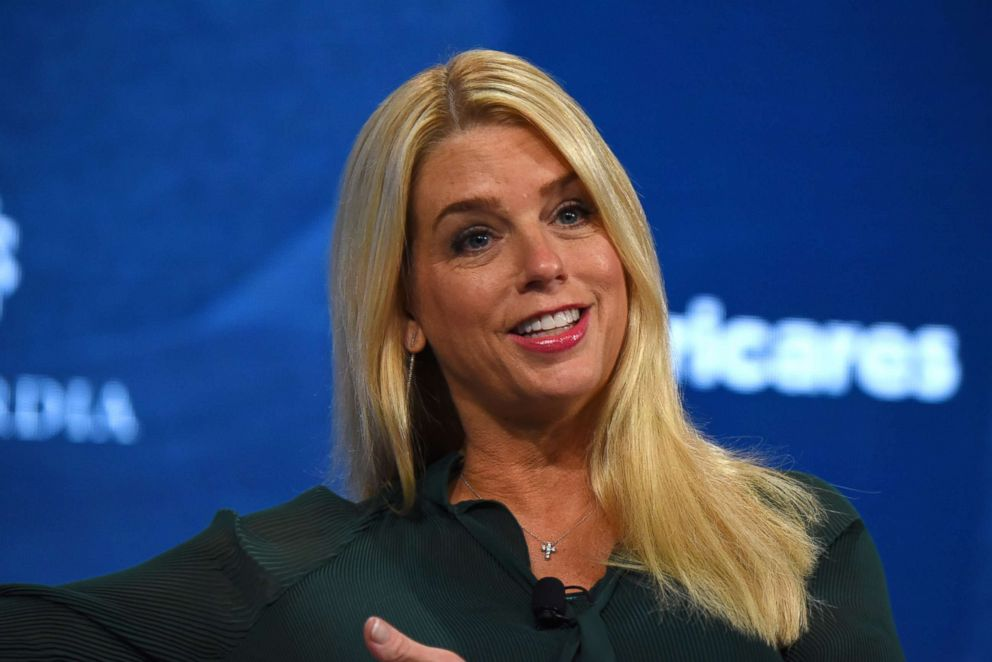 PHOTO: Attorney General for the State of Florida Hon. Pam Bondi speaks onstage during an event in New York on Sept. 25, 2018.