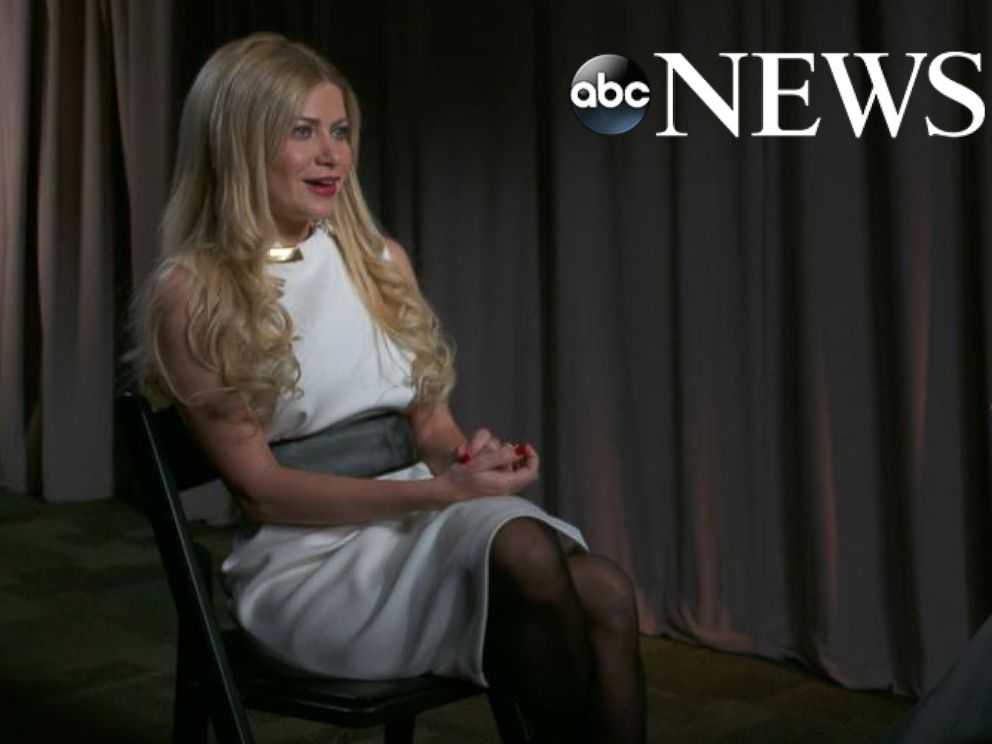 PHOTO: George Papadopoulos fiance, Simona Mangiante responds to ABCs George Stephanopoulos question asking if she speaks Russian.