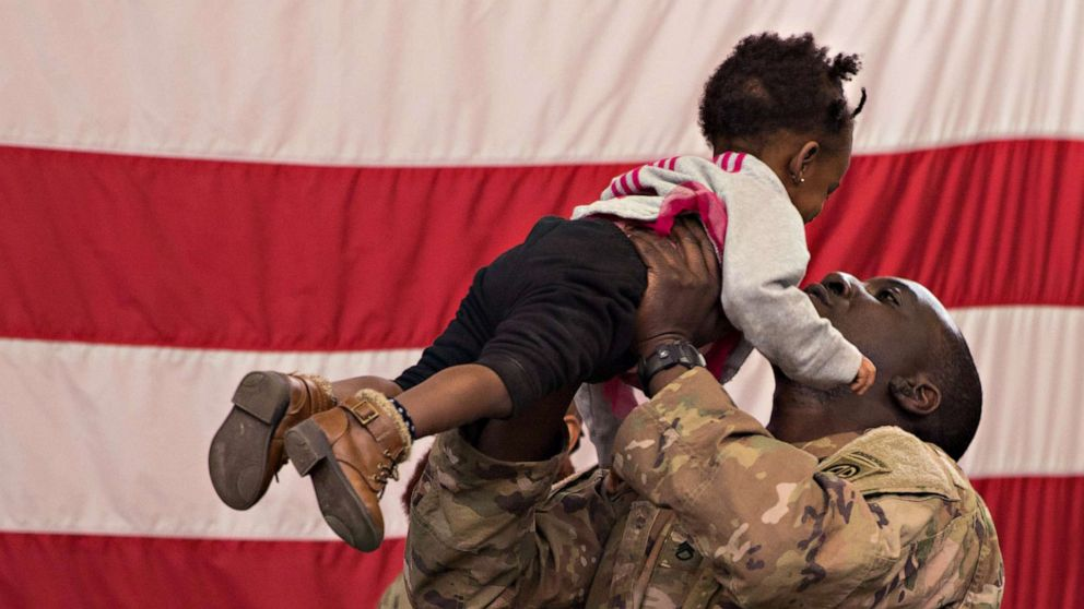 800 soldiers, rushed to Middle East, return home to Fort Bragg