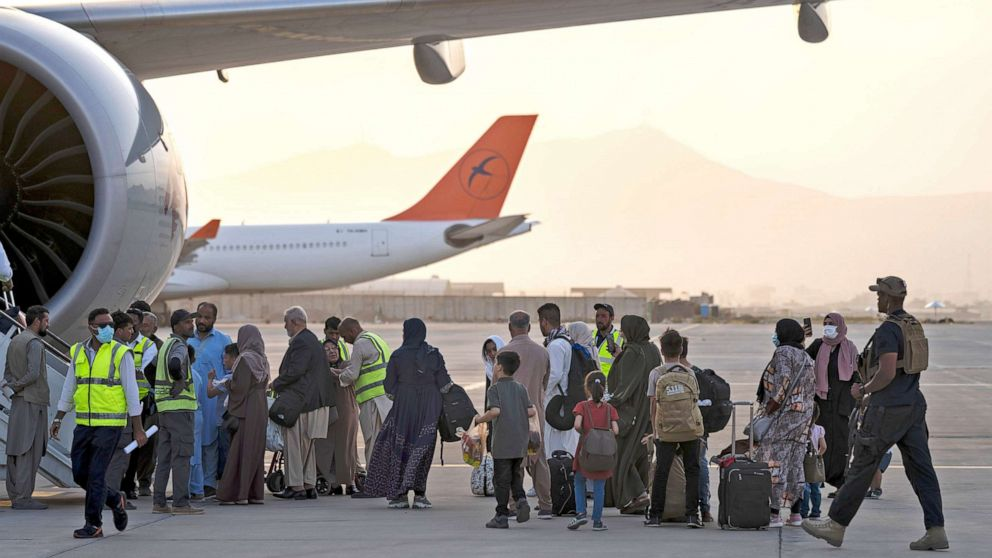 Taliban Allows Plane Carrying Americans and Other Foreign Nationals Leave Kabul Airport