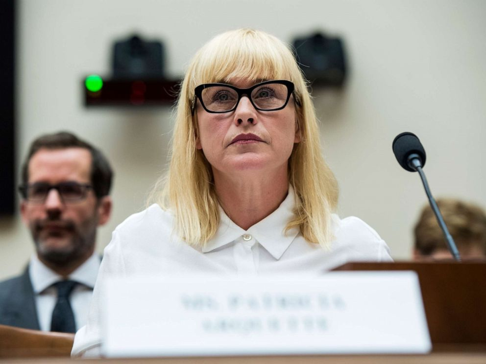 PHOTO: Patricia Arquette testifies during the House Judiciary Constitution, Civil Rights and Civil Liberties Subcommittee hearing on the Equal Rights Amendment, April 30, 2019.