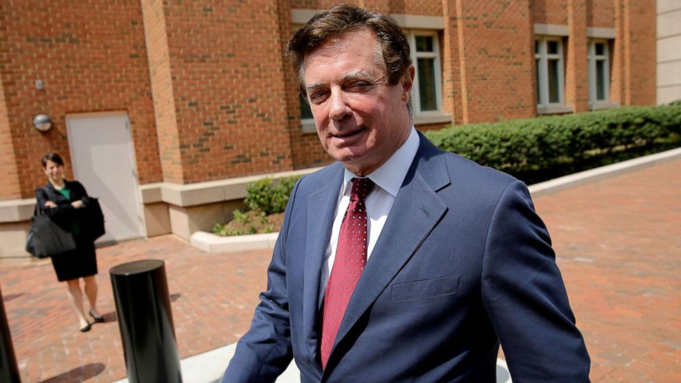 President Trump's former campaign chairman Paul Manafort departs U.S. District Court after a motions hearing in Alexandria, Va., May 4, 2018.