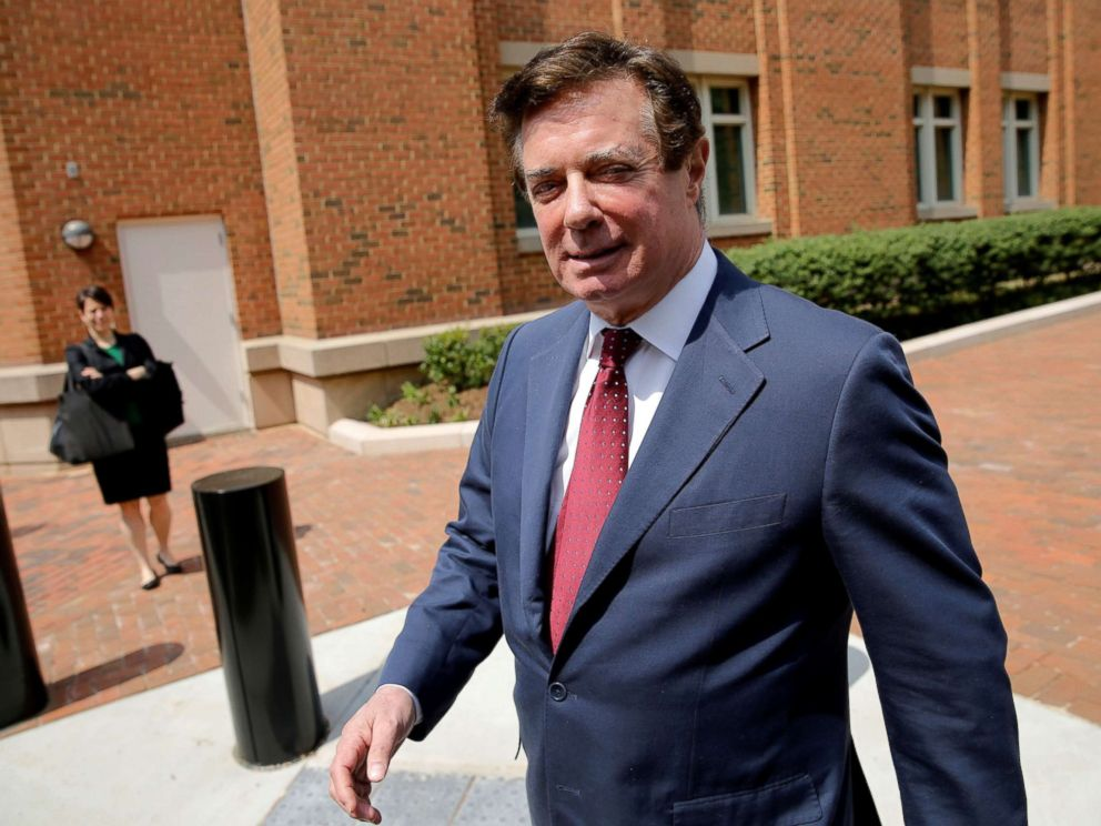 Paul Manafort shared 2016 presidential polling data with ...
