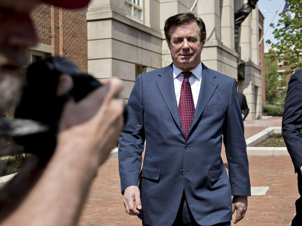 Judge reveals identities of 5 witnesses immunized to testify against Manafort