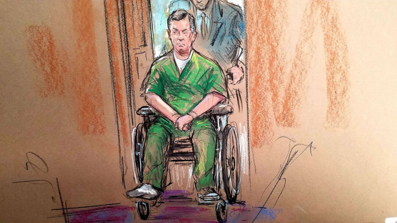Image result for images paul manafort in court