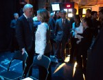 "PHOTO: In the fourth installment of ""Being Biden"", an audio series on the White House blog, the Vice President tells the story behind a photo taken with former Secretary of State Hillary Clinton backstage at the Vital Voices Global Leadership Award on Apr"