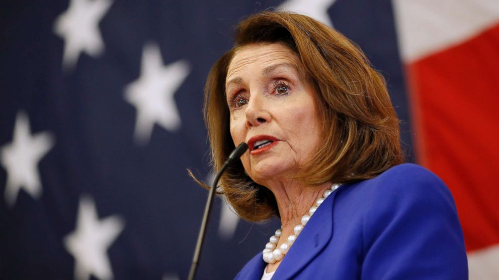 House Minority Leader Nancy Pelosi speaks during the Polk County Democrats Spring Dinner, May 6, 2018, in Des Moines, Iowa.