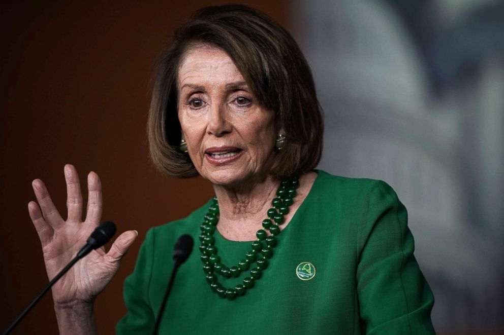 House Minority Leader Rep. Nancy Pelosi (D-CA) speaks during her weekly news conference, Dec. 6, 2018 in Washington, D.C.