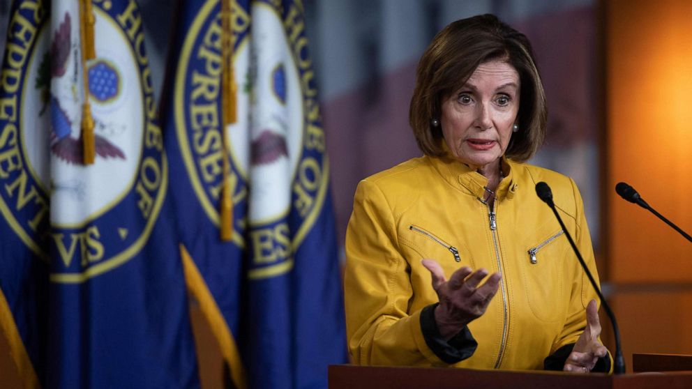 Pelosi 'appalled' by Trump comments on being open to foreign political interference thumbnail