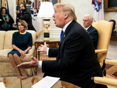'It's like a manhood thing for him': Pelosi on Trump and border wall
