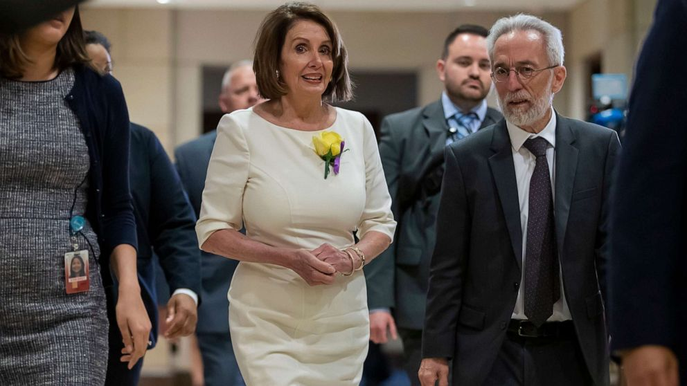 Under mounting pressure from Democrats, Pelosi to hold emergency impeachment meeting