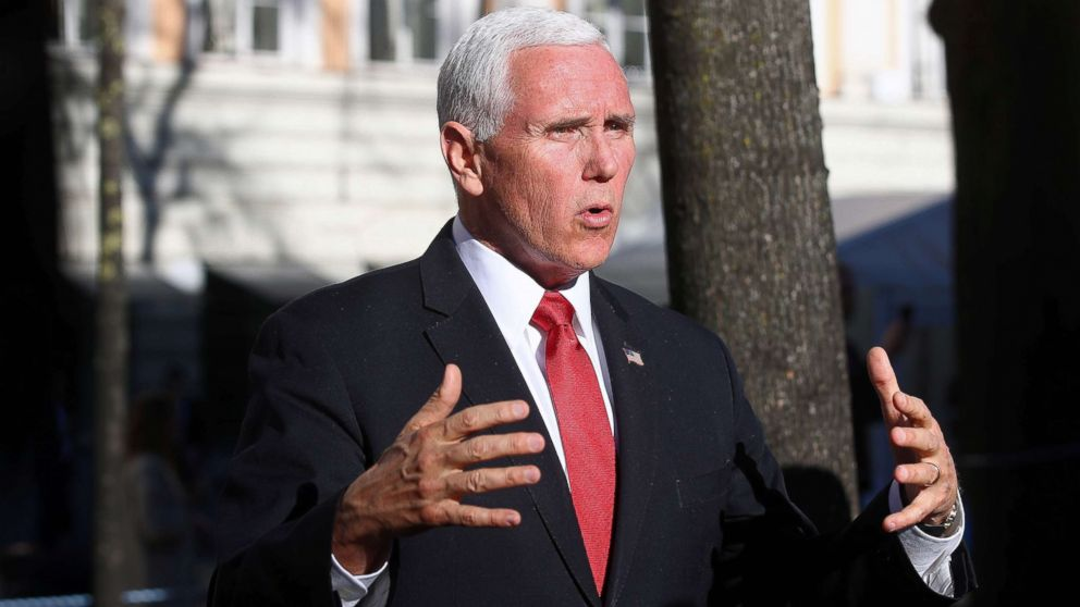 Pence accuses Iran of advocating for 'another Holocaust' during Europe trip