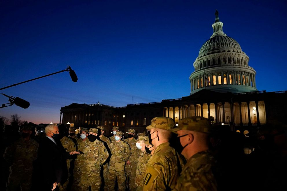 Nation's capital being turned into 'fortress Washington' ahead of  inauguration - ABC News