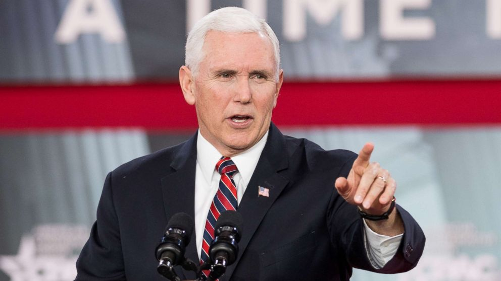 Vice President Mike Pence at the Conservative Political Action Conference (CPAC) sponsored by the American Conservative Union held at the Gaylord National Resort & Convention Center in National Harbor, Md.