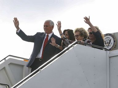 Pence defends visit to family's Ireland hometown, stay at Trump property