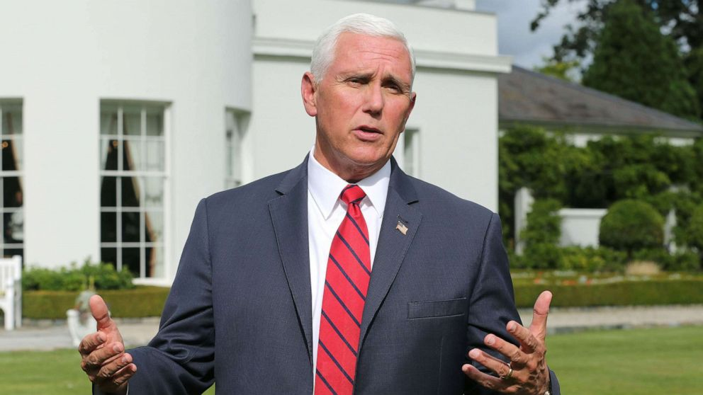 Democrat rejects Pence response to questions about stay at Trump's Ireland resort