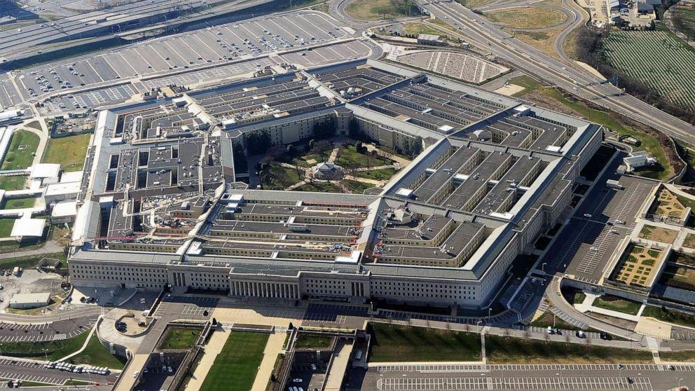 PHOTO: This file photo taken on Dec. 26, 2011, shows the Pentagon building in Washington, D.C.