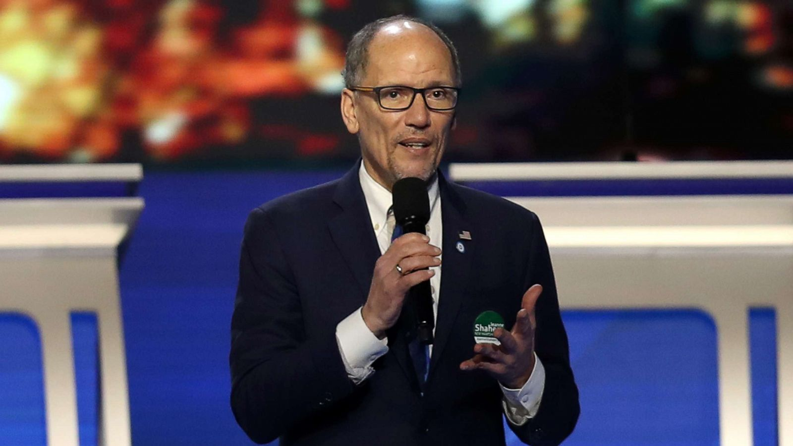 Dnc Chair Tom Perez Compares Biden Sexual Assault Allegation To Hillary Emails Abc News