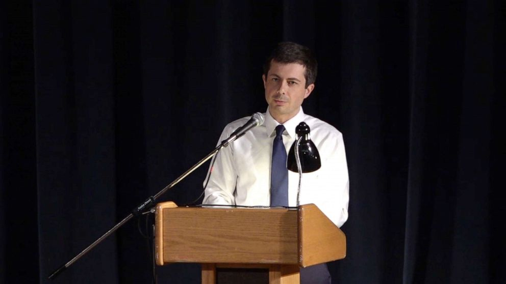 Emotions run high as Pete Buttigieg faces a divided community after police shooting thumbnail