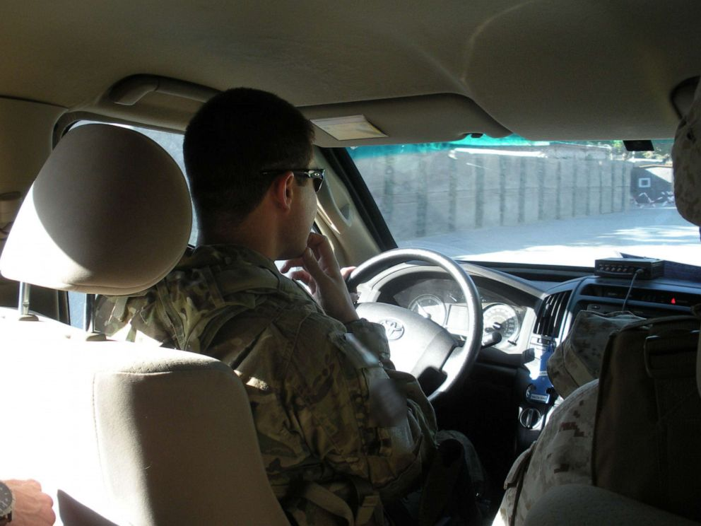 PHOTO: Presidential hopeful, Pete Buttigieg spent six months in Afghanistan as a military intelligence officer.