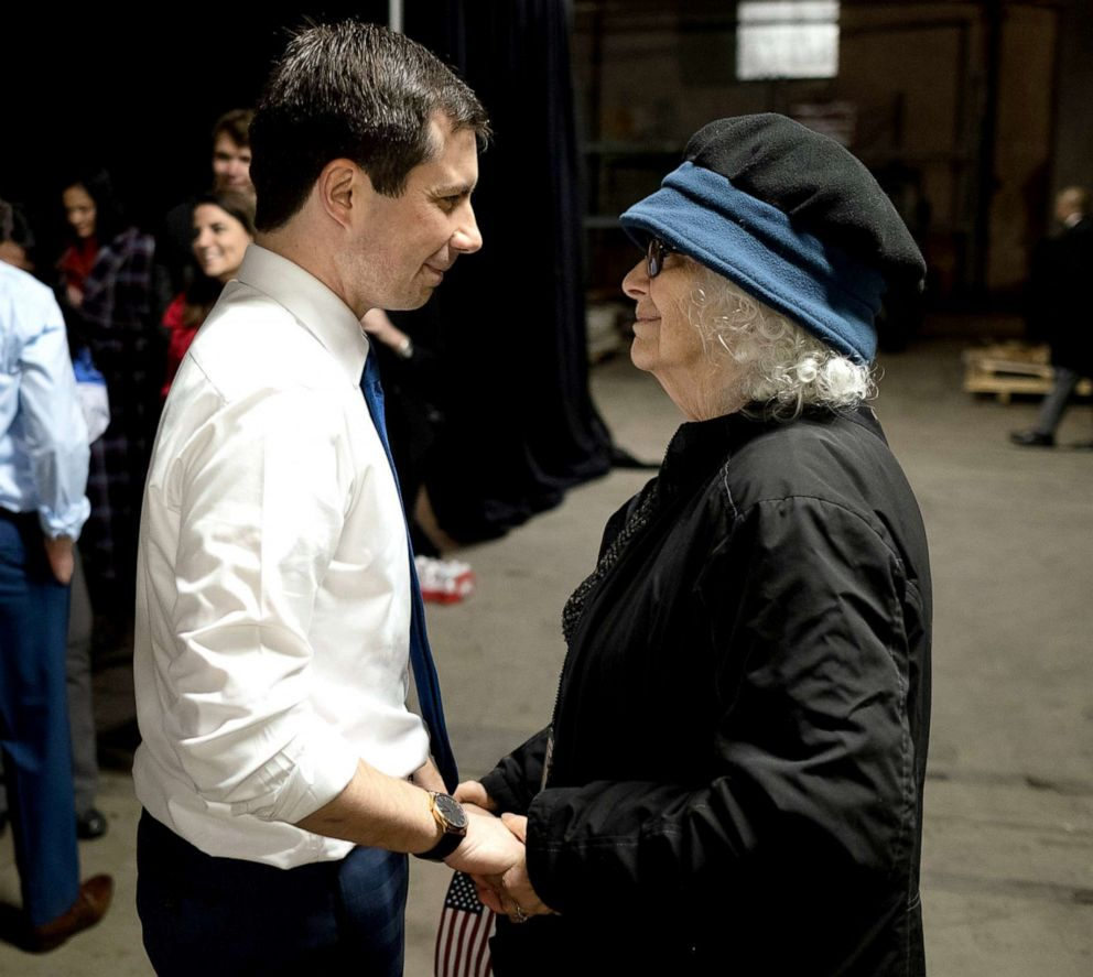 PHOTO: Mayor Pete Buttigieg, with his mom Jennifer in an undated photo.