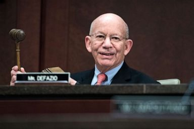 PHOTO: Chairman Peter DeFazio conducts a House Transportation and Infrastructure Committee hearing in the Capitol Visitor Center, Feb. 7, 2019, in Washington, DC.