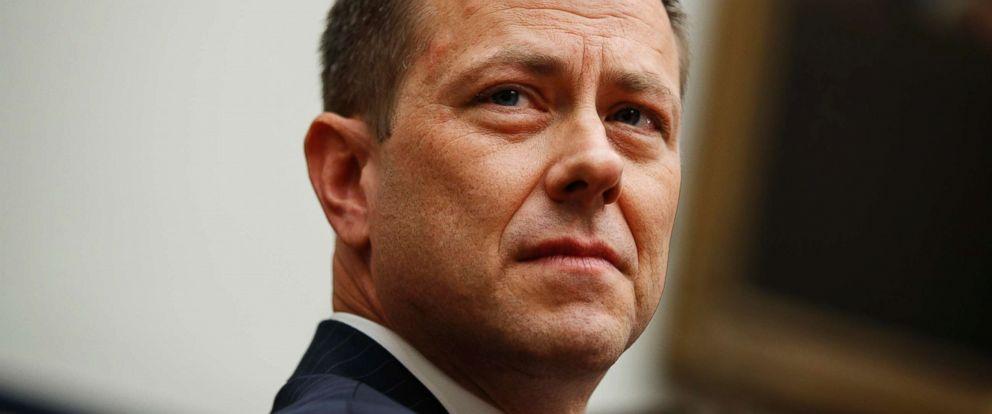 PHOTO: Then-FBI Deputy Assistant Director Peter Strzok testifies on Capitol Hill, July 12, 2018, in Washington.