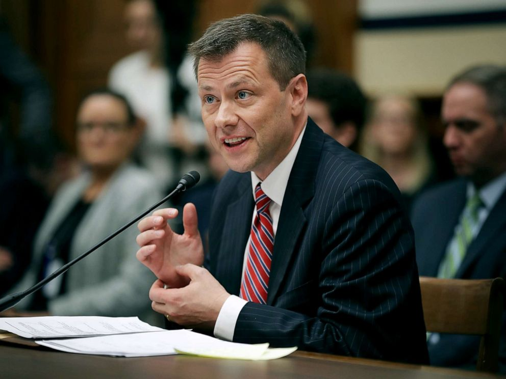 Peter Strzok sues the Federal Bureau of Investigation  over his firing