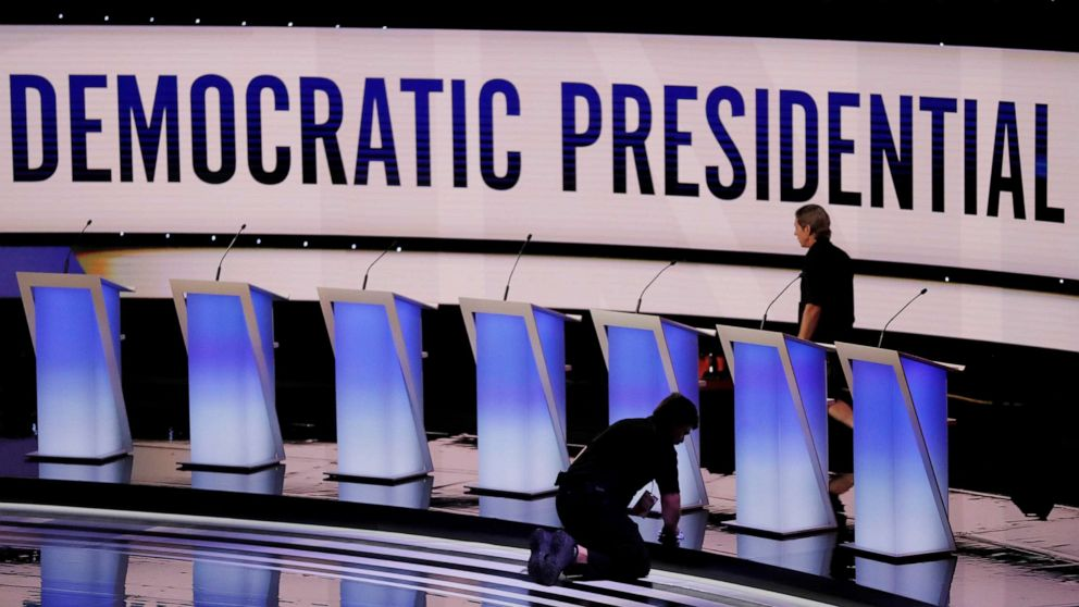 September debate stage nearly set as Democratic field awaits Wednesday deadline