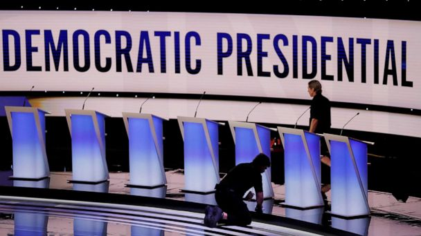 The Note: Candidates seek debate breakthroughs in overstuffed week