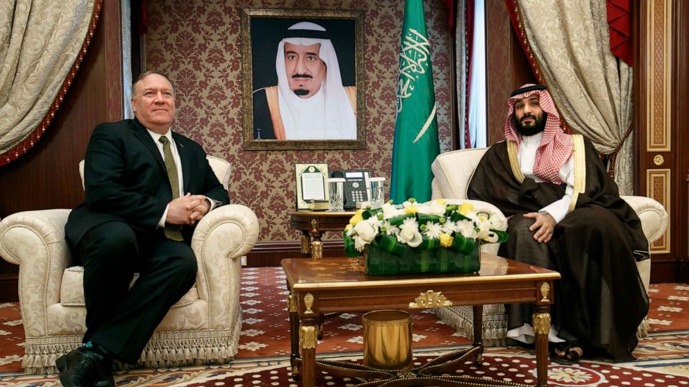 Trump dismisses Khashoggi investigation, Pompeo doesn't raise it in Saudi meeting thumbnail