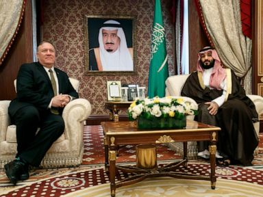 Trump dismisses Khashoggi investigation, Pompeo doesn't raise it in Saudi meeting