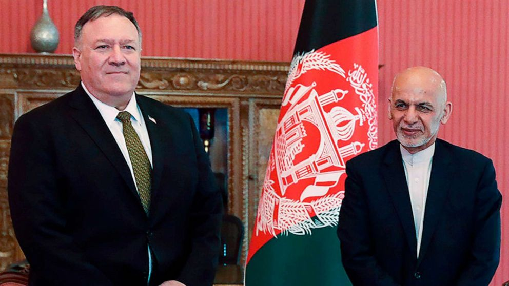 Pompeo makes surprise trip to Afghanistan to push peace process forward thumbnail