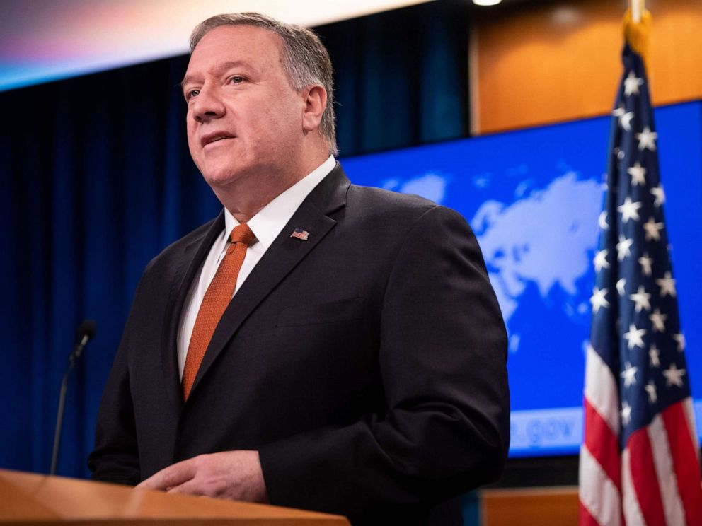Pompeo suggests debunked Ukraine election meddling theory should be probed
