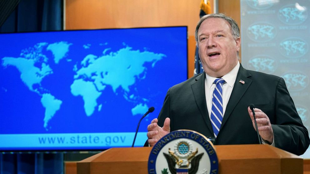 Pompeo changes tune on Chinese lab's role in outbreak, as intel officials cast doubt thumbnail