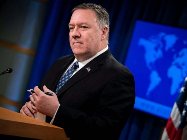 Pompeo accuses China and Iran of censoring information about coronavirus outbreaks