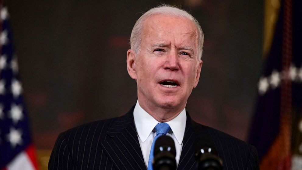 Biden says there will be enough vaccine for American adults by end of May