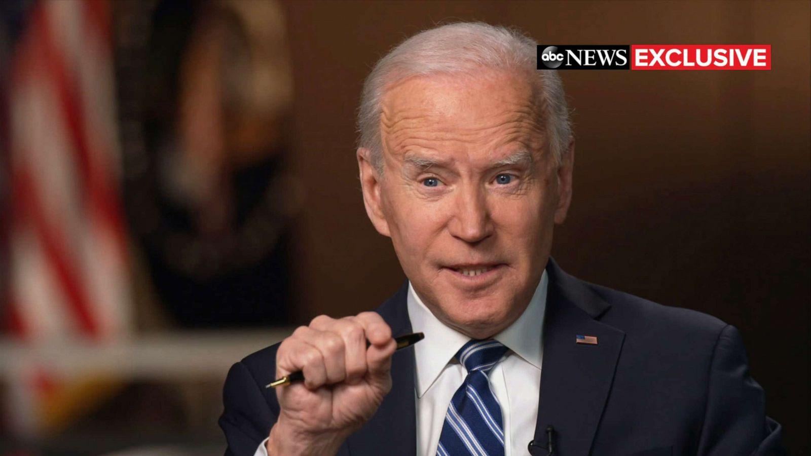 TRANSCRIPT: ABC News' George Stephanopoulos interviews President Joe Biden  - ABC News