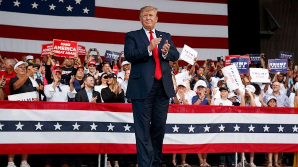 Trump to hold rally in Pennsylvania on heels of Biden's campaign launch