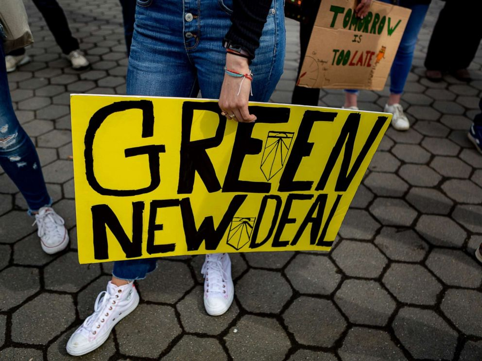PHOTO: On March 15, 2019, thousands of students from New York City and around the world walked out of class Friday to protest the lack of action to protect the earth from catastrophic climate change.